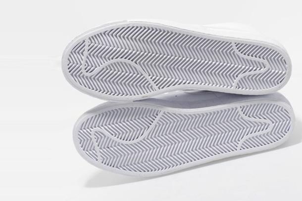 Nike Blazer Mid TG - Blanc