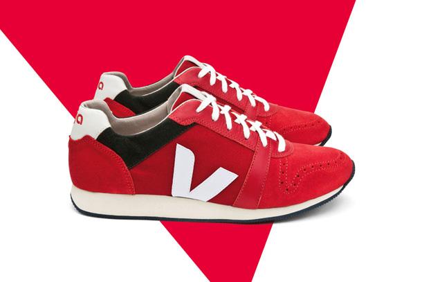 Veja Domingo - Rouge London Red