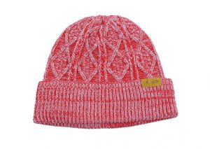 Bonnet Kangol x Patta Cable Knit Beanie Rouge/Red