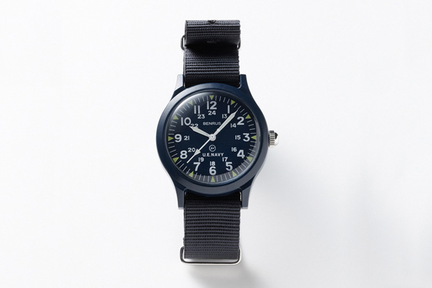 SOPHNET x Benrus x uniform experiment Military Watch