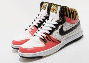 Nike Court Force High Premium Safari Pack Deadstock