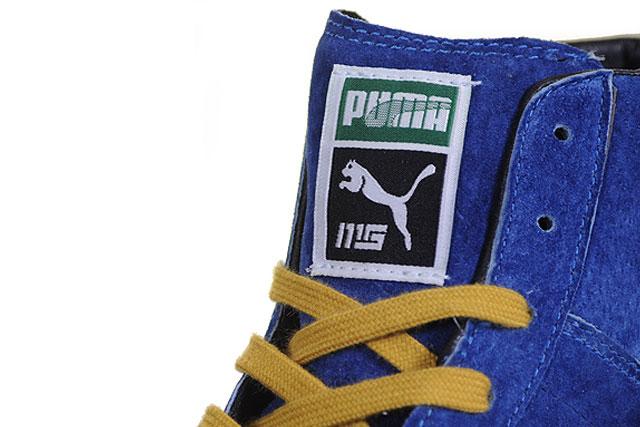 Mita x Puma Suede Mid Blue