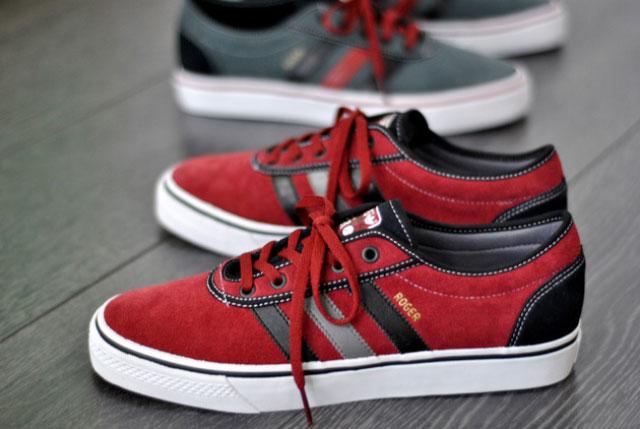 adidas rouge noir