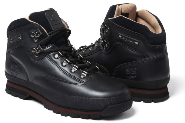 Supreme x Timberland Euro Hiker Boot Black