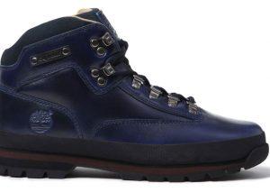 Supreme x Timberland Euro Hiker Boot Bleu