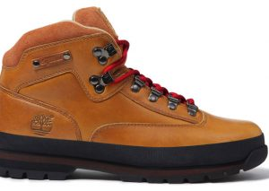 Supreme x Timberland Euro Hiker Boot Marron/Rouge