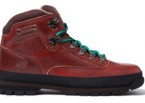 Supreme x Timberland Euro Hiker Boot Marron/Bleu