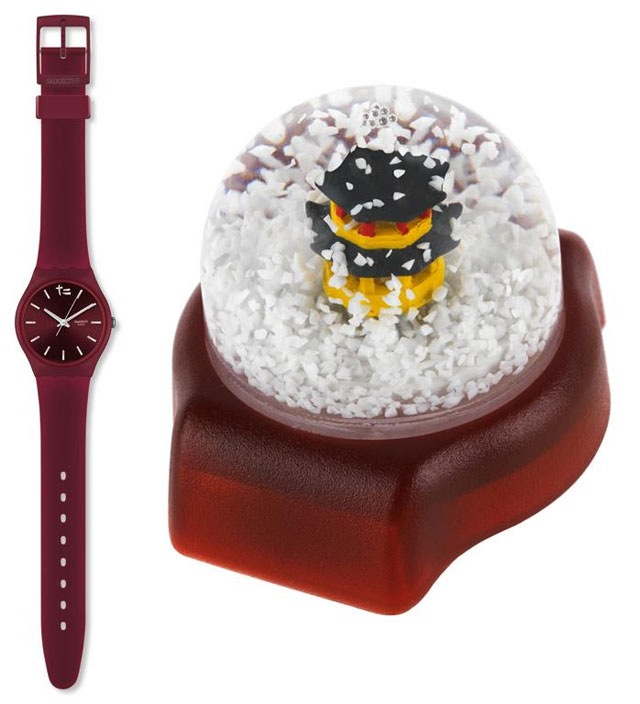Swatch New Gent Royal Red Shanghai