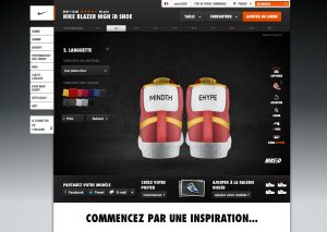 Personnalisation Nike Blazer Mid NikeiD