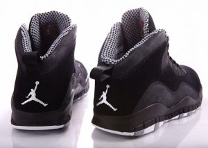 Air Jordan 10 (X) Black/Stealth (Alexandre Hoang)
