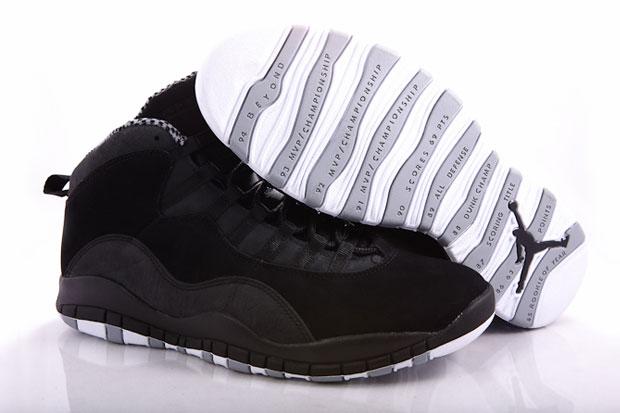 Air Jordan 10 (X) Black/Stealth White (Alexandre Hoang)
