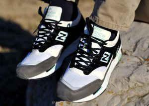 New Balance 1500 Made in UK–Gris Noir Turquoise (Alexandre Hoang)