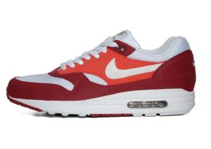 Nike Air Max 1 Legacy Red/White Khaki Gum Dark Brown