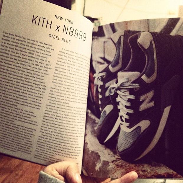 "Kith x New Balance 999 ""Steel Blue"""