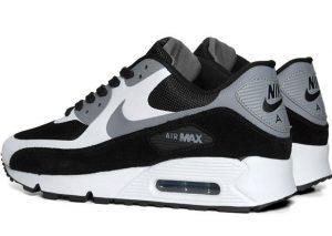 Nike Air Max 90 Premium - Black/Cool Grey-1