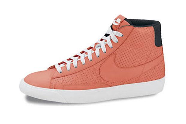 Nike Blazer Mid Bright/Mango - Printemps/Été 2012 (Alexandre Hoang)