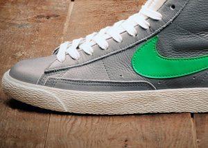 Stussy x Nike Blazer Retro 2012 Gris/Vert (size?) (Alexandre Hoang)