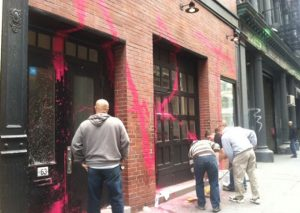 Kidult graffiti magasin Marc Jacobs New-York