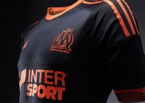 Maillot Marseille Coupe d'Europe Reversible 2012/2013-3