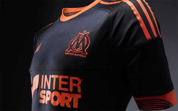 Maillot Marseille Coupe d'Europe Reversible 2012/2013-2