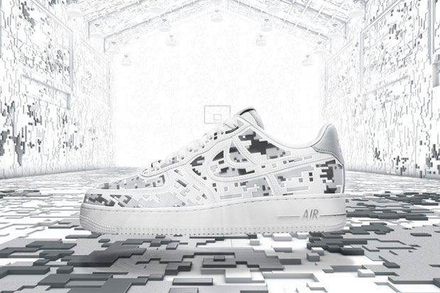 "Nike Air Force 1 Premium 08 ""XXX Anniversary"" High-Frequency Digital Camouflage-1"