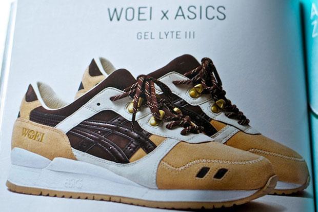 Woei x ASICS Gel Lyte III Cervidae