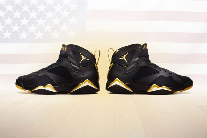 Air Jordan 7 Golden Moments
