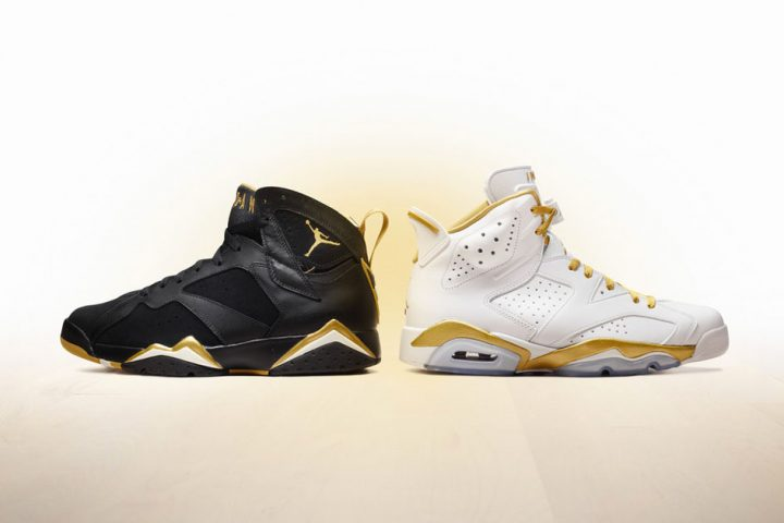 Air Jordan Golden Moments Pack 2012