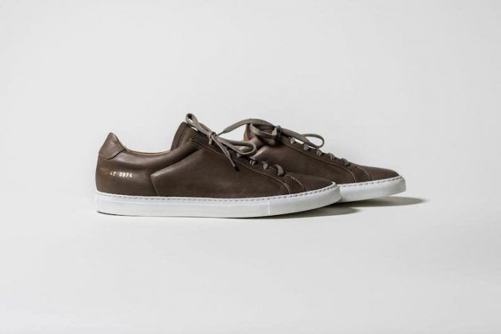 Common Projects Achilles Premium Brown - Automne/Hiver 2012