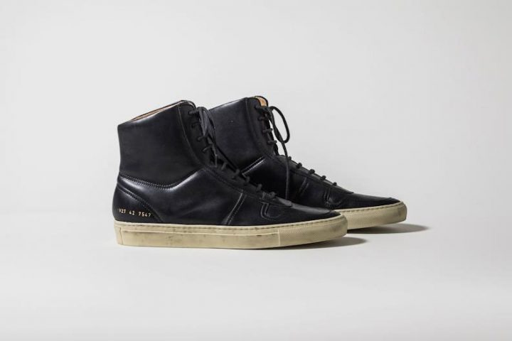 Common Projects Bball High Vintage Black - Automne/Hiver 2012