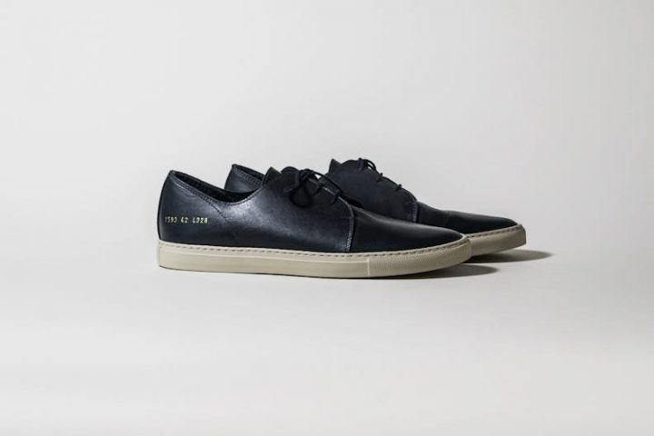 Common Projects Rec Shoe Black - Automne/Hiver 2012