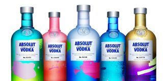 Absolut Vodka 'Unique Edition' 2012