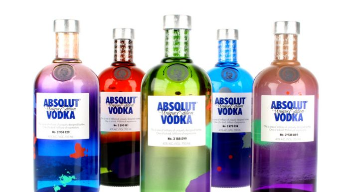 Absolut Vodka 'Unique Edition' 2012-5
