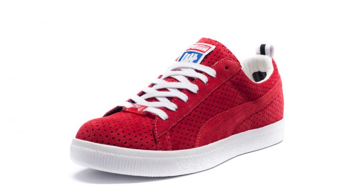 UNDFTD x Puma Clyde 'Gametime' Pack Rouge