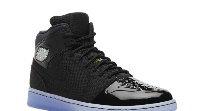 Air Jordan 1 RETRO '95 TXT - Noir/Gamma Blue