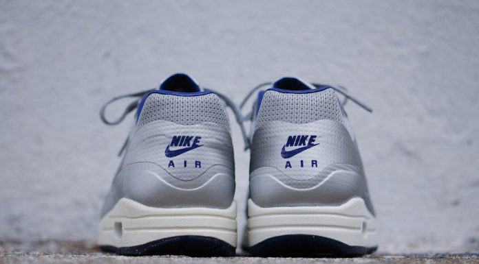 Nike Air Max 1 Hyperfuse QS Night Track (Metallic Silver/Deep Blue)-5