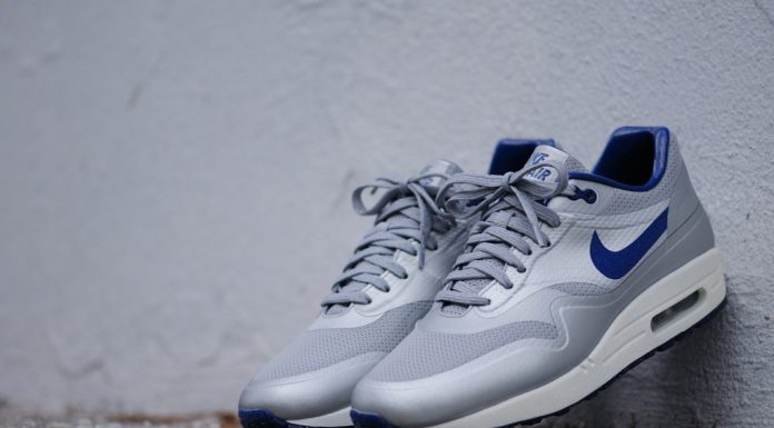 Nike Air Max 1 Hyperfuse QS Night Track (Metallic Silver/Deep Blue)