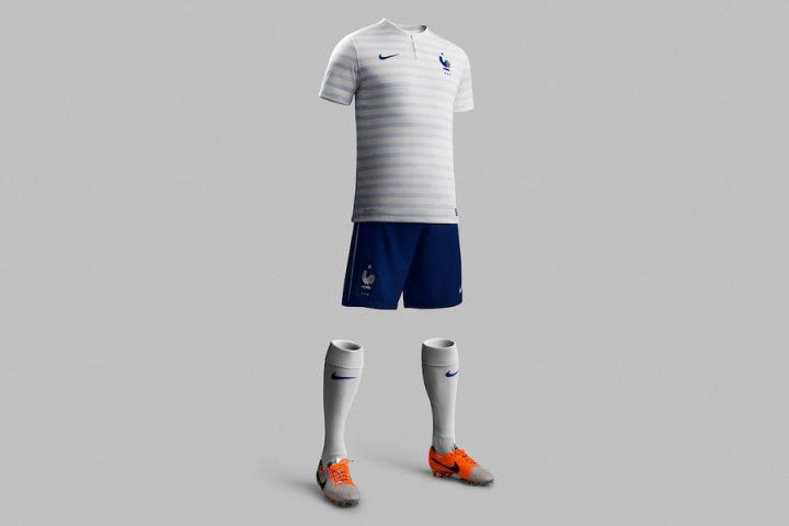 Maillot Equipe de France Exterieur Coupe du Monde Brasil 2014