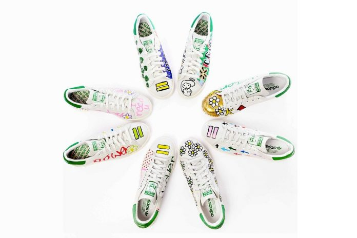 10 paires adidas Stan Smith exclusives Pharrell chez Colette