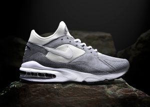 Nike Air Max 93 'Metals' – size? Silver Gris