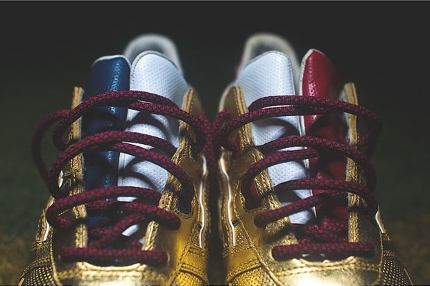 Ronnie Fieg x Asics Gel Lyte III Kith Football Equipment 'USA'-2