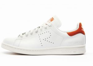 adidas Originals by Raf Simons Stan Smith (Orange/Blanc)