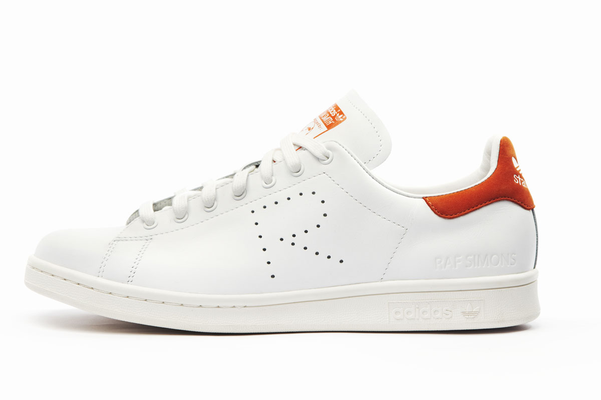 adidas Originals by Raf Simons Stan Smith (blanc/vert)