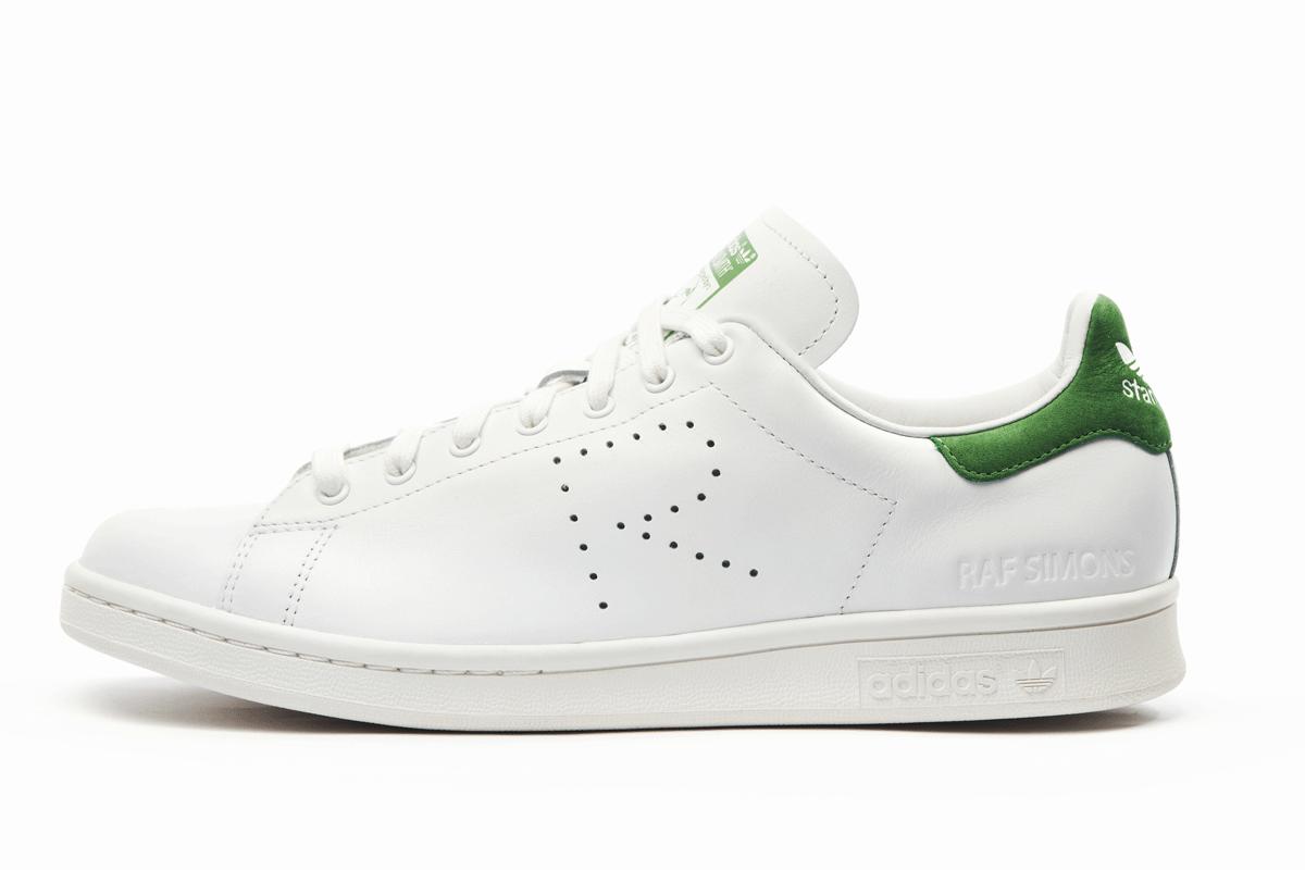 adidas Originals by Raf Simons Stan Smith (blanc/vert)