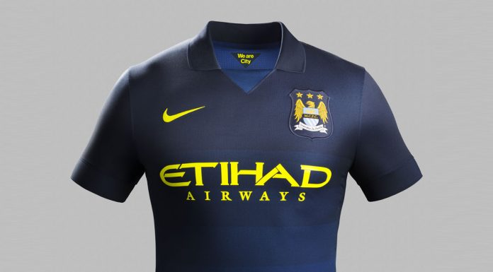 Manchester City AWAY Football Kit 2014/2015