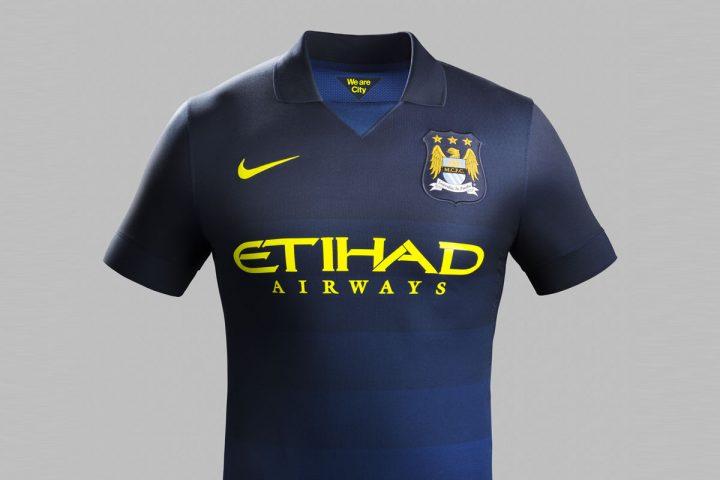 Manchester City AWAY Football Kit 2014/2015