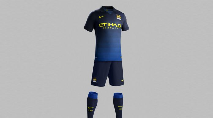 Manchester City AWAY Kit 2014/2015