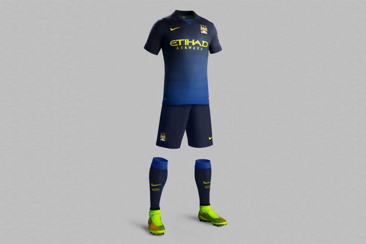 Manchester City AWAY Kit 2014/2015