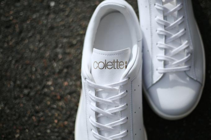 adidas stan smith x colette blanc or septembre 2014
