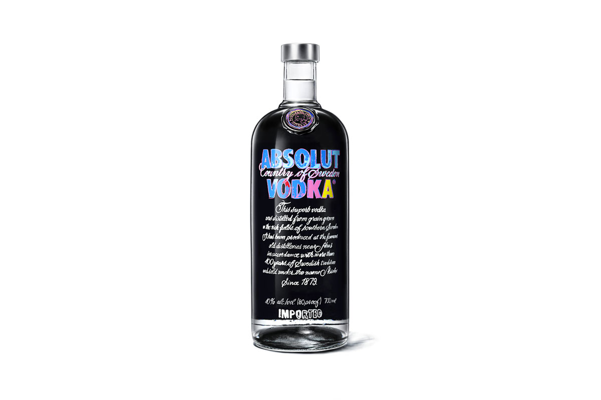 Absolut Vodka Andy Warhol 2014